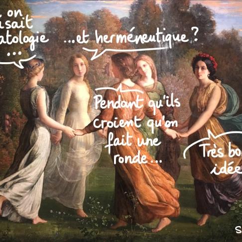 Des filles théologiennes